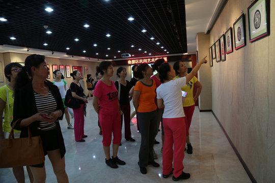 """2015年6月8日至15日我馆组织开展了""""文化遗产日""""系列宣传展示活动"""