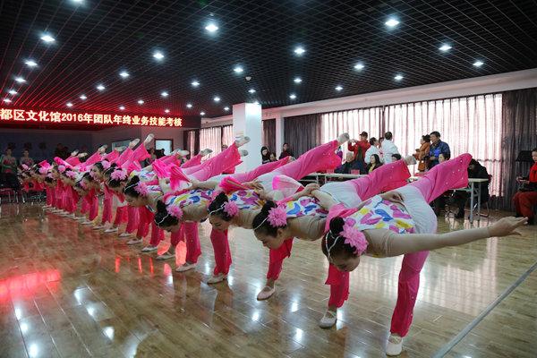 渭水咸花舞蹈队