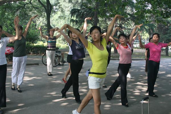 社区排舞培训