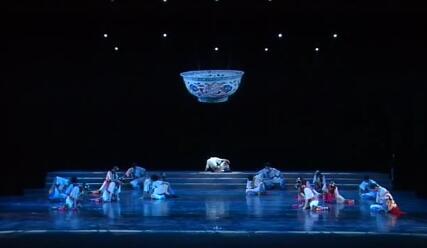 2011年10月22日晚参加第二届陕西省社区文化节颁奖晚会参加节目《咸阳河水BIANGBIANG面》