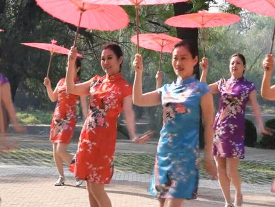 亚搏娱乐网站文化馆广场舞