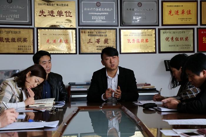 2018年3月24日   亚搏娱乐网站文化馆开展第一期道德讲堂活动